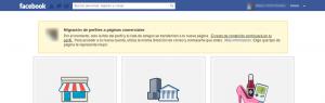 cómo migrar perfil a página facebook